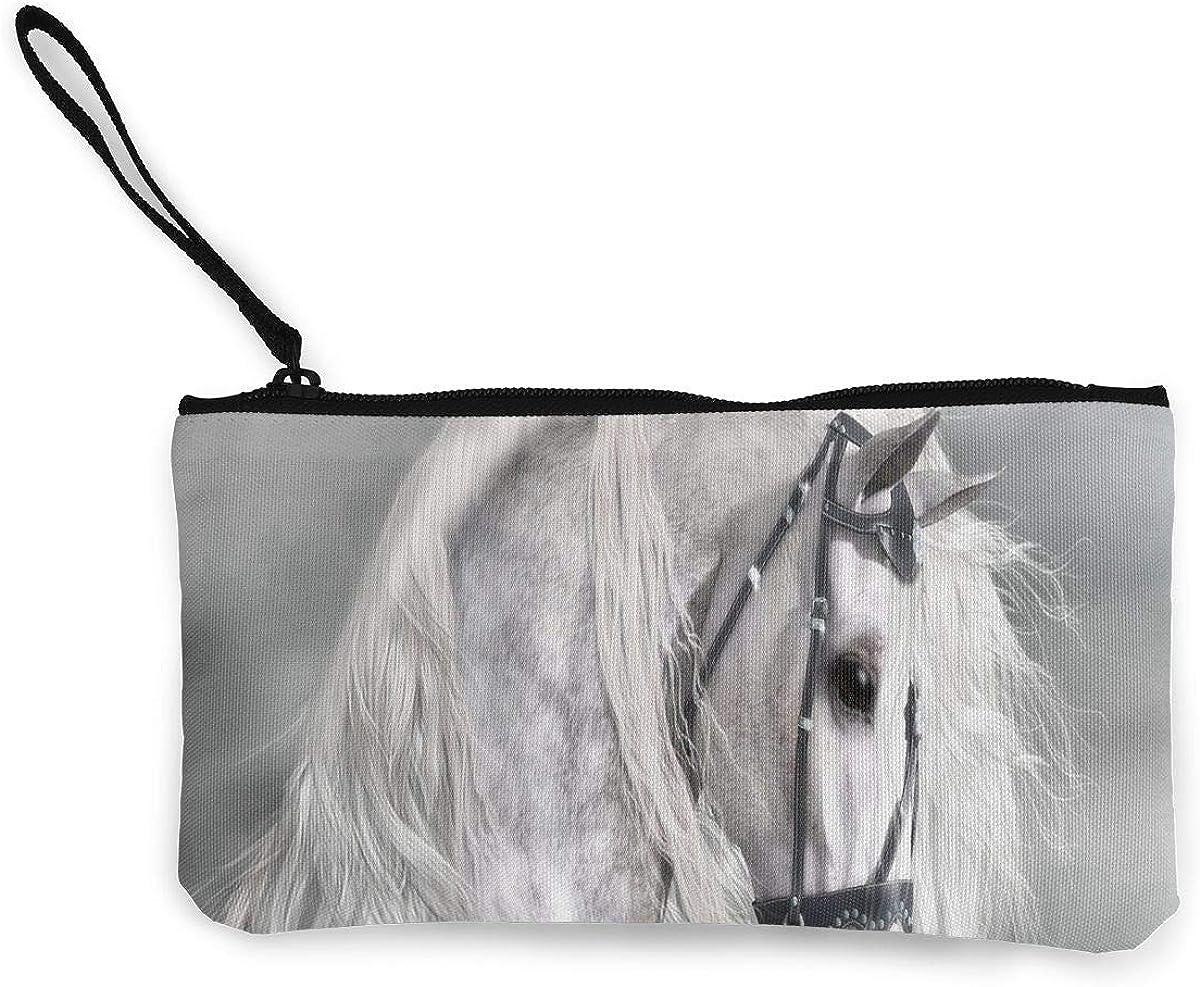 Coin Purse White Horse Hors...