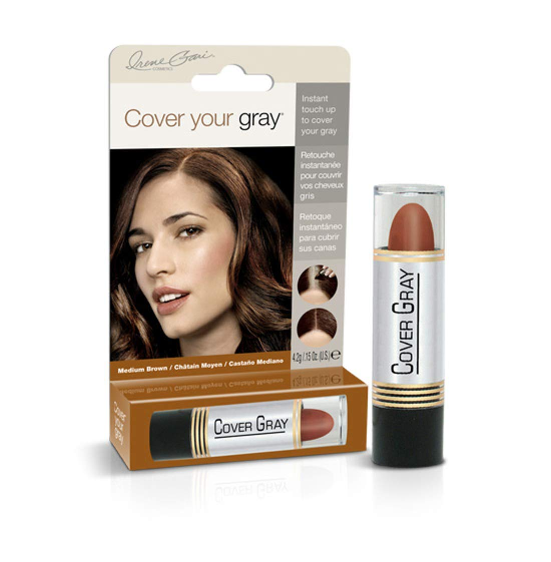 Cover YOur Gray For Women Medium Brown-Lipstick Irene Gari