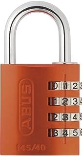 ABUS 465703 Aluminium-Zahlenschloss 145//20 orange
