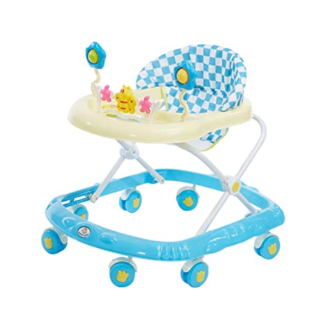 Andador Bebe Plegable del bebé Walker Rollover Prevención 6 ...