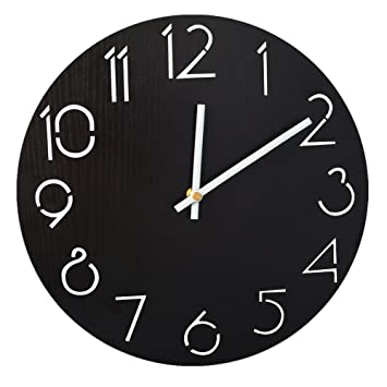 amazon gift garden 掛け時計 おしゃれ 木製 アナログ 壁掛け時計
