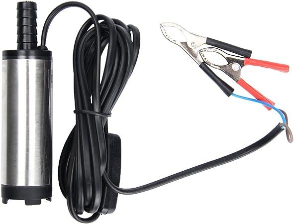 Holdlebe Dc 12v 24v Pumpe 38mm Ölpumpe Wasser Öl Diesel Treibstoff Transfer Pumpe Für Auto Kfz Auto