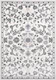 Momeni Rugs Brooklyn Heights Collection Area Rug, 5'3″ x 7'6″, Ivory Review