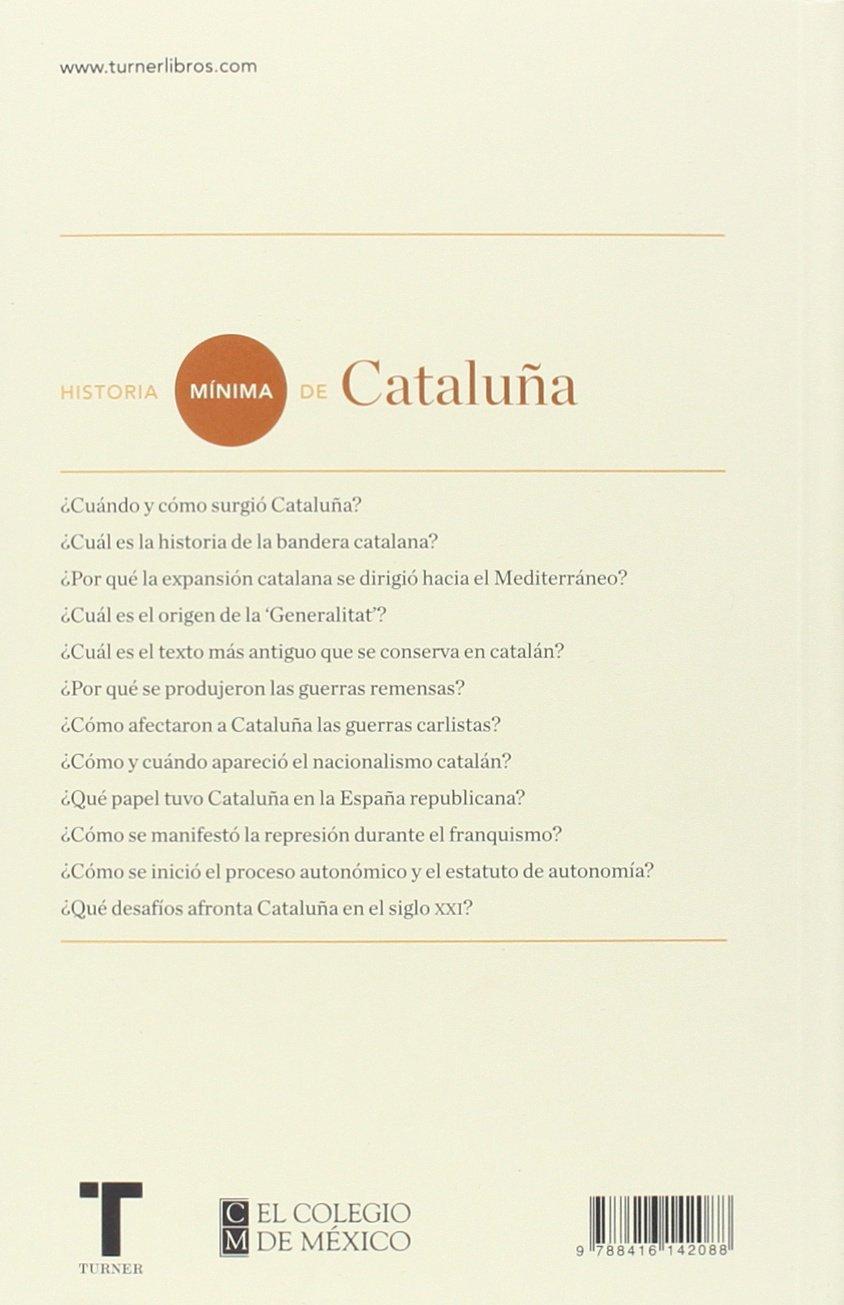 Historia mínima de Cataluña (Historias mínimas): Amazon.es: Canal ...