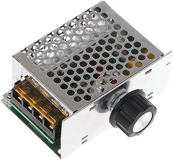 HighPower 4000W SCR Spannungsregler Dimmer Geschwindigkeit Temperaturregler