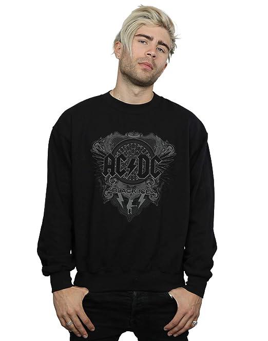 AC/DC Hombre Black Ice Camisa De Entrenamiento: Amazon.es: Ropa y accesorios