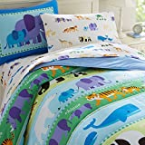 Wildkin Olive Kids Endangered Animals Light Weight Full Comforter