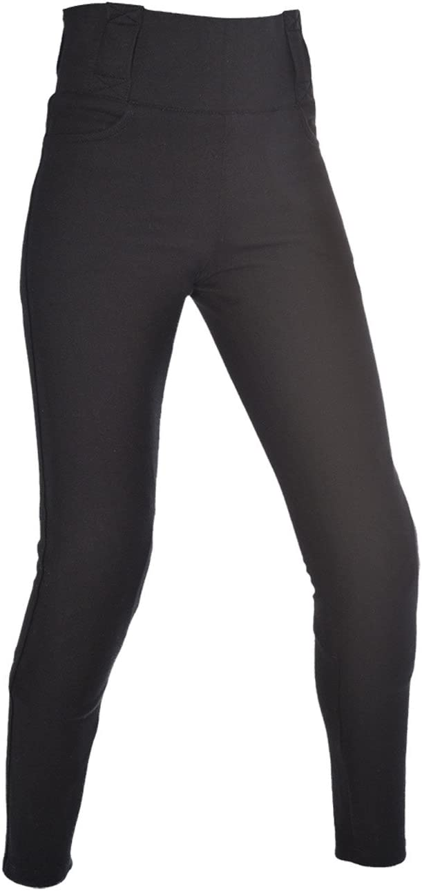 Oxford Super Womens Riding Protective Leggings Black, US Size 16