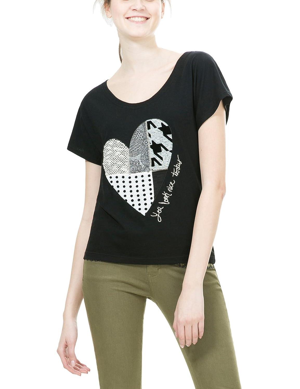 Desigual Damen T-Shirt Ts_Beget