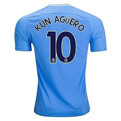 brand new 84dad 3e9a6 NIKE Men's 2017/18 Kun Aguero #10 Manchester City Soccer ...