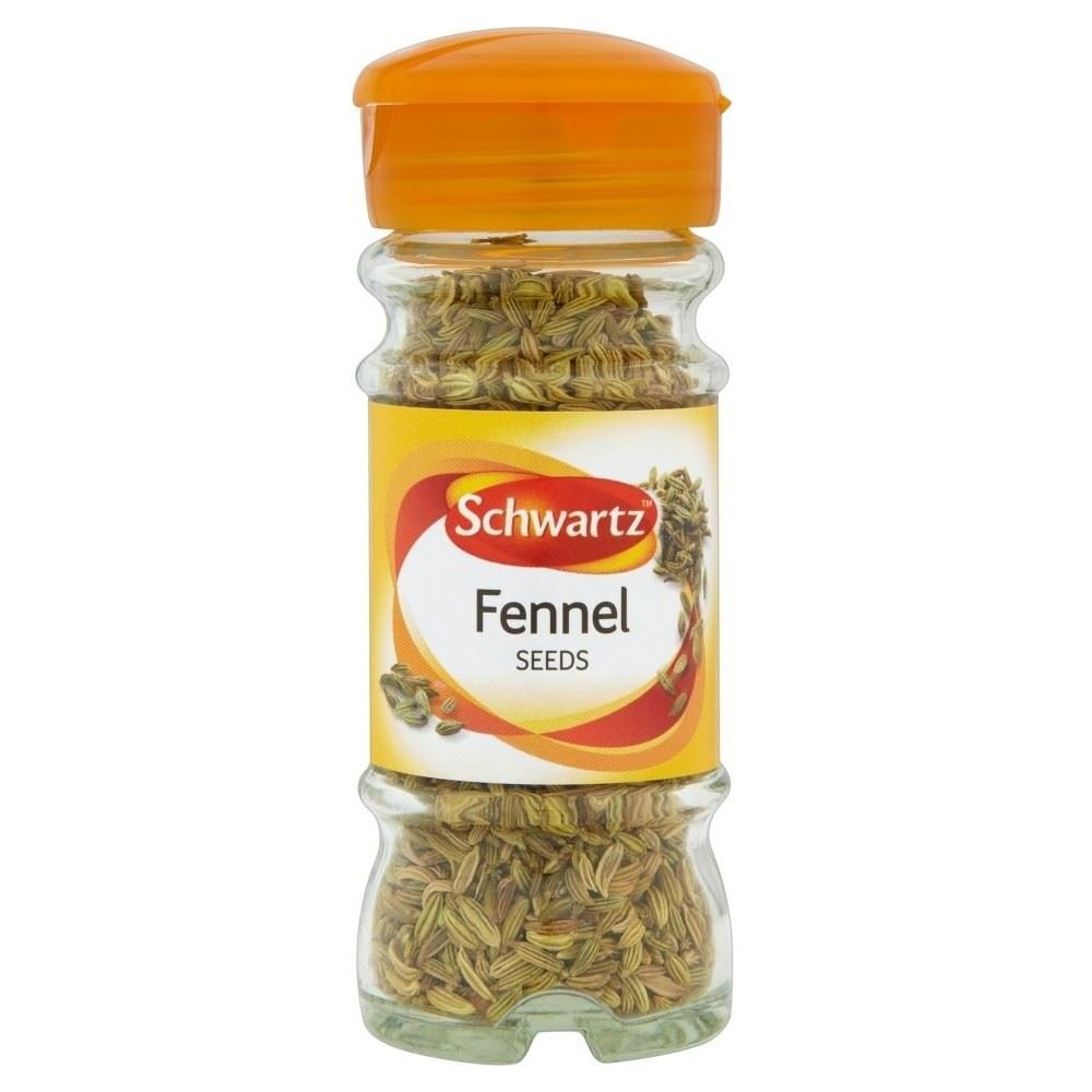 Schwartz Fennel Seeds (28g) - Pack of 6