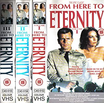 From Here To Eternity Vols 1 3 Vhs 1979 Natalie Wood