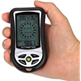 SUNDERPOWER 8 In 1 Digital Multifunction LCD Compass Altimeter Barometer Thermometer