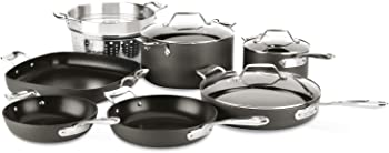 All-Clad H911SA64 Essentials Nonstick 10-Piece Cookware Set