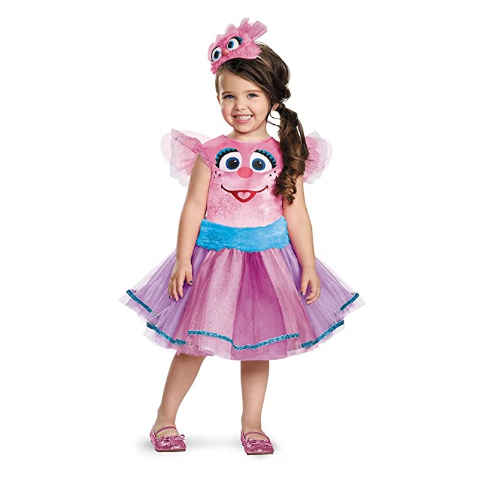 Disguise Abby Tutu Deluxe Costume Small (2T)  sc 1 st  Amazon.com & Amazon.com: Deluxe Abby Cadabby Tutu Toddler Costume: Toys u0026 Games