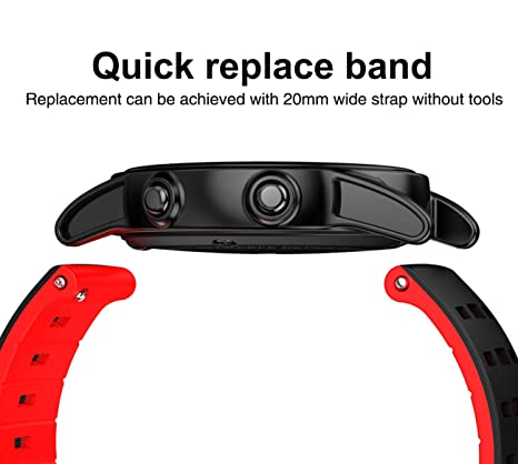 Amazon.com: Isa Fitness Tracker Smart Watch, Waterproof ...