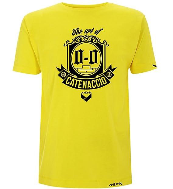 Münk - Art of Catenaccio - Camisetas de diseño retro fútbol vintage - Muñeco recortable gratis: Amazon.es: Ropa y accesorios