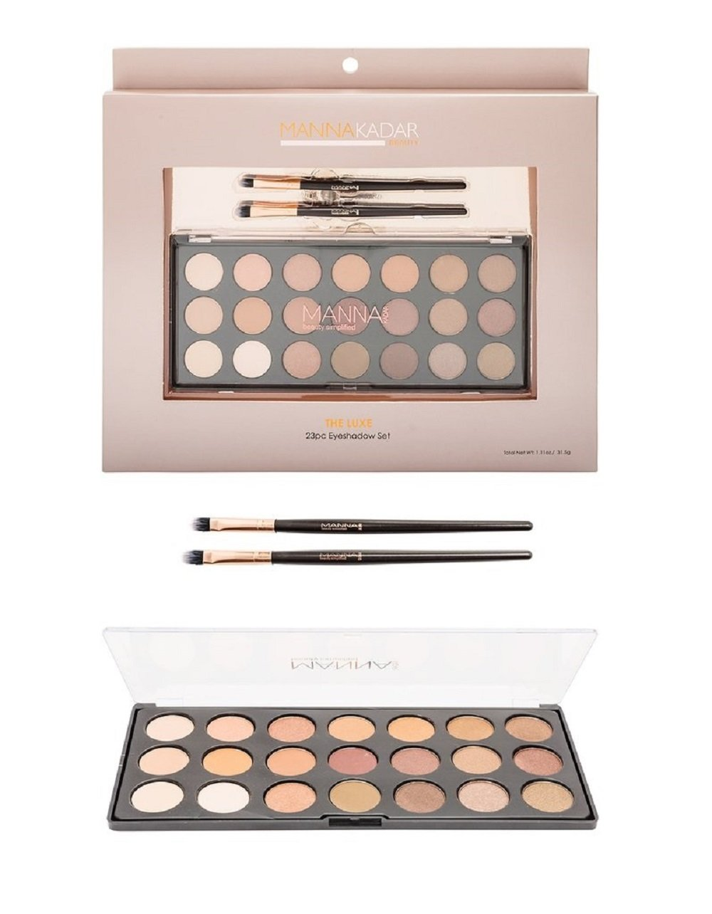 Manna Kadar Cosmetics The Luxe Shadows Gift Set