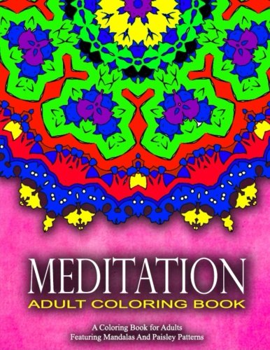 MEDITATION ADULT COLORING BOOKS - Vol.15: Women Coloring Books For Adults (Volume 15)