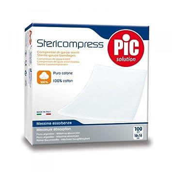 Pic Stericompress Garza Sterile 18x40cm
