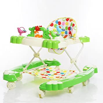 891bc2663dd4 Amazon.com   Baby Walker Multifunctional Stroller Anti-Rollover ...