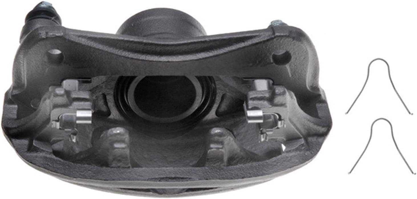 Friction Ready Non-Coated Remanufactured ACDelco 18FR287 Professional Front Driver Side Disc Brake Caliper Assembly without Pads