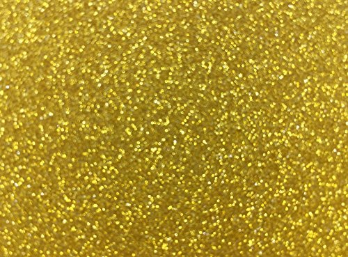 Gold Stock (Glitter Cardstock, Misscrafts 10 Sheets 12