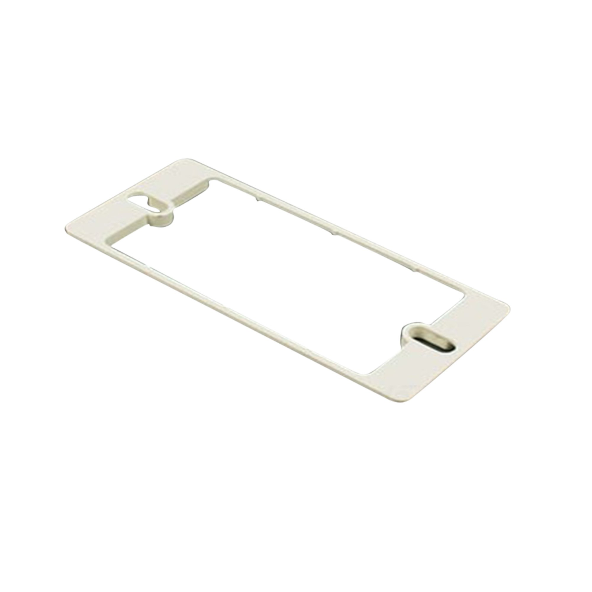 Wiremold 5507S Nm Spacer 5500 Series Mounts Standard Faceplates Ivory (5 Pack)