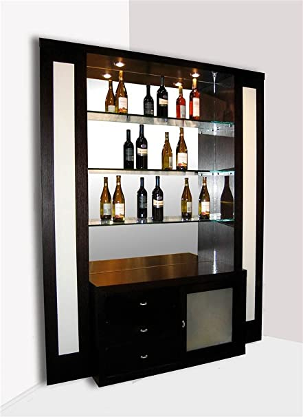 Amazon Com Sharelle Furnishings Elite Bar Corner Kitchen Dining