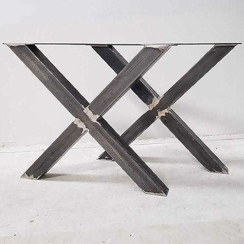 Pied De Table Fer.2x Pieds De Table Industriel X Pieds En Metal Pieds De Fer X8080