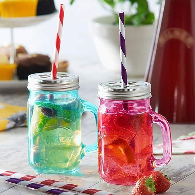 etc bodas fiestas Pajita de papel a rayas para decoraciones cariciosas de bebidas con todo el color del arco iris por Amison cumplea/ños