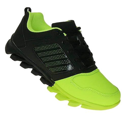 Neon Sneaker Sportschuhe Turnschuhe Herren Bootsland 130 u5T1c3JlFK
