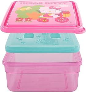 Zak Designs Hello Kitty Reusable Sanwhich Container