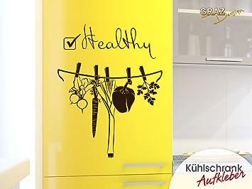 Kühlschrank Tattoo : Amazon graz design kühlschrank aufkleber wandtattoo tattoo für