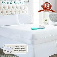 Safe and Sound Waterproof Zippered Mattress Encasement