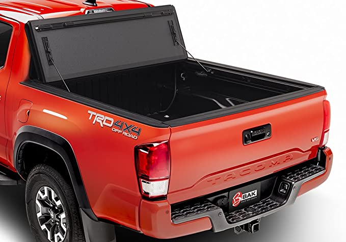 BAK Industries BAKFlip MX4 Hard Folding Truck Bed Cover 448426 2016-18 Toyota Tacoma 5' with Track System
