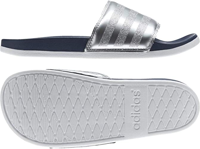 Amazon.com | adidas Women's Adilette Cf+ Explorer Beach ...