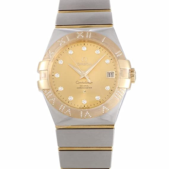 Omega Constellation automatic-self-wind Mens Reloj 123.25.35.20.58.002 (Certificado