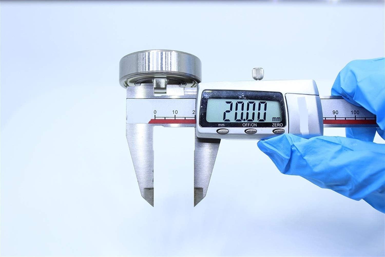 1 PC HLY Trading 204212 Nicht-Standard-Kugellager 20x42x12mm Innendurchmesser 20 mm Au/ßendurchmesser 42mm Bearing Kugellager