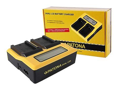 Patona® - Cargador para Sony NP-FZ100 A7 III A7M3 Alpha 7 ...
