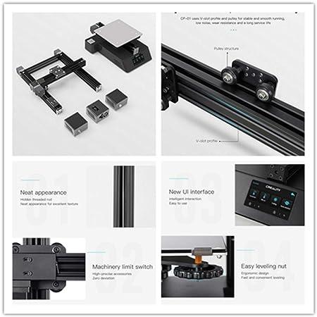 Impresora 3D CP-01 multifunción 3 en 1 con grabado láser, corte CNC, impresora 3D de alta precisión, pantalla táctil de 4,3
