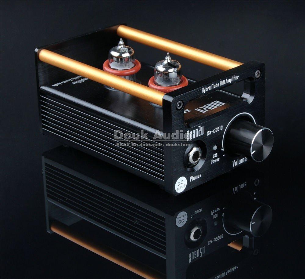 Amazon.com: Douk Audio 2P2+VMOS Class A Hybrid Tube Amp Headphone Amplifier USB DAC HiFi Pre-Amplifier: Home Audio & Theater