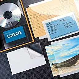Lineco Peel-Stick Clear Binder Pockets 8.5x11 (50)