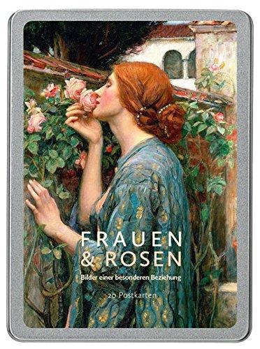 Frauen und Rosen: Grußkarten-Box