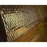 Solar Bay Gold Doppel Folienisolierung mit einzelnem Blase-schicht 4 Größen erhältlich - 30m2 (1.2 x 25)