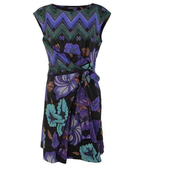 online store 2fea0 6cbb8 Alberta Ferretti Abito in Cotone A0453 Multicolor Size:44 ...