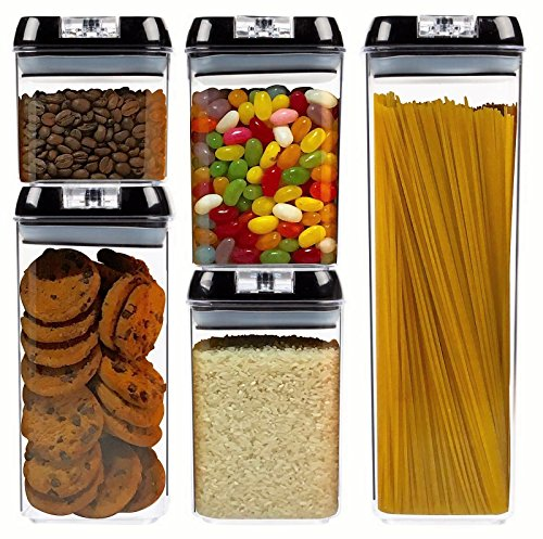 Airtight Food Storage Container Set by S.A.Pro | A durable a