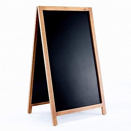 Vintage de madera magnético un marco pizarra señal para ...