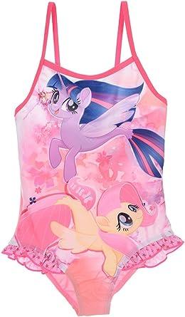 ChildrensKids My Little Pony Swimming Costume Girls