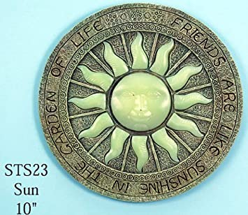 Sun Glow in the Dark Stepping Stone, 10